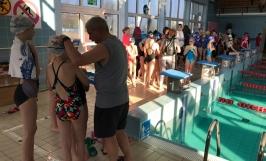 Eliminacje Dzielnicowe w pływaniu w ramach WOM Szkół Podstawowych